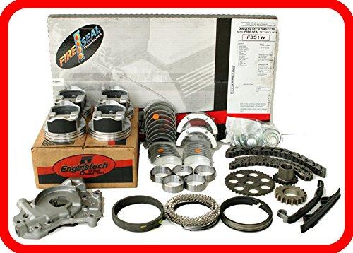 (Engine Rebuild Overhaul Kit FITS: 2003-2006 Honda Accord Element 2.4L DOHC K24 K24A4 VTEC)