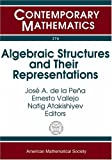 Algebraic Structures and Their Representations, José Antonio de la Peña, 0821836307