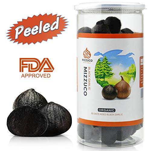 Mizzuco Black Garlic, 920G/32.45 OZ Organic WHOLE Black Garlic Natural Fermented for 90 days Healthy Snack Ready to Eat or Sauce (920G)