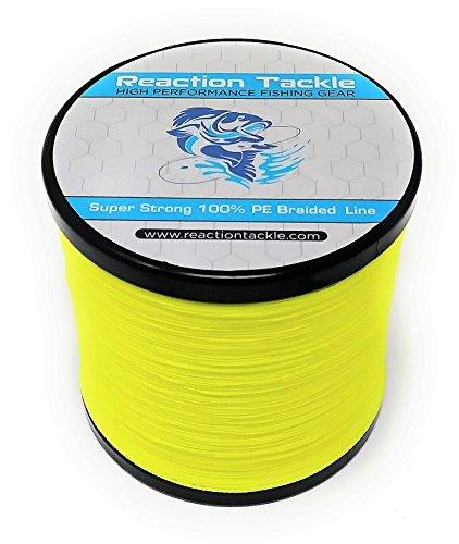 - Reaction Tackle Hi Vis Yellow 30LB 150yd