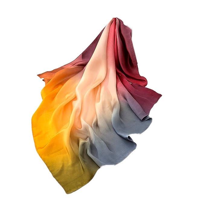 YJYDADA - Bufanda para mujer, diseño cuadrado, color ...