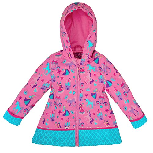 Stephen Joseph All Over Print Rain Coat, Princess