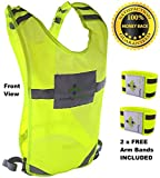Reflective vest for Running Road Cycling Dog...