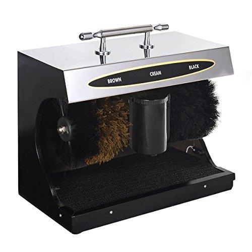Schuhputzautomat Schuhputzmaschine Schuhputzgerät PoliermaschineSchuhe Schuhcreme-Spender Schuhbürste Elektrisch