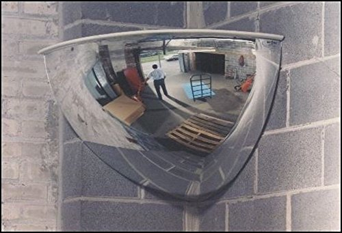 See All PV26-90 Panaramic Full Dome Plexiglas Security Mirror, 90 Degree Viewing Angle, 26'' Diameter (Pack of 1)