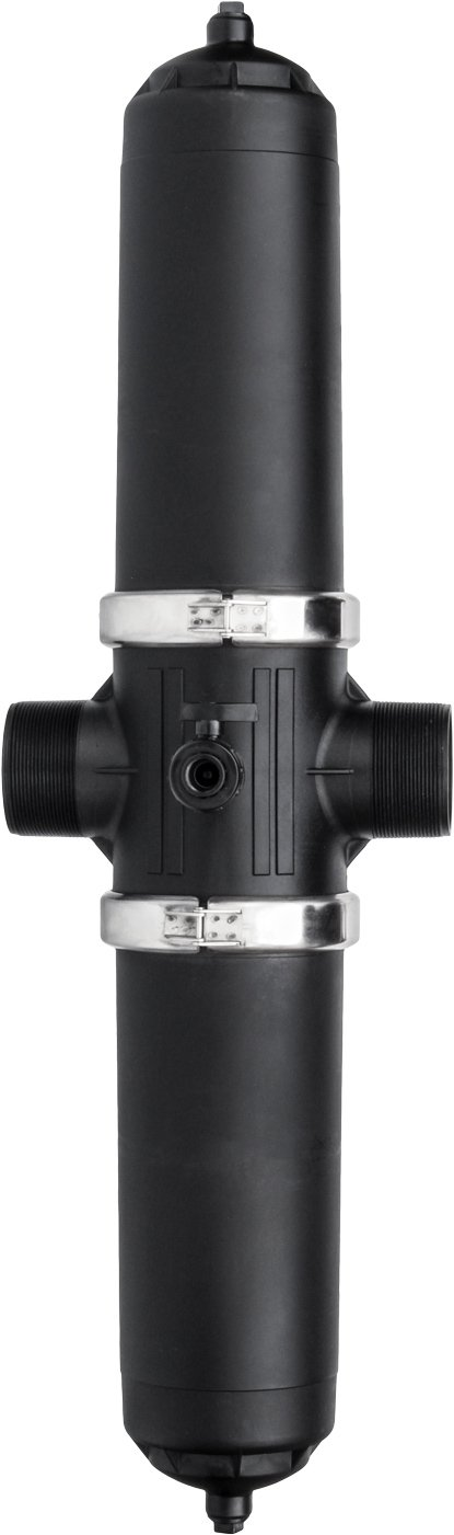 IrrigationKing RKD490N 4'' Dual Body Disc Filter - 120 mesh - 395 GPM, 110 psi