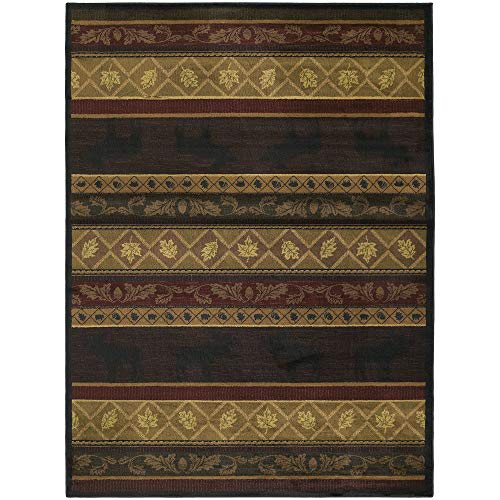 Westfield Home Ridgeland Moose Forest Polypropylene Area Rug - 7'10 x 10'6 from by Westfield Home