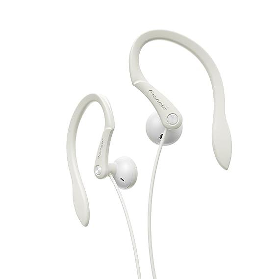 Pioneer SE-E511-W - Auriculares Deportivos de Clip, Color Blanco ...