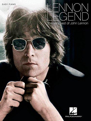 Sheet Piano Legend John (Hal Leonard Lennon Legend - The Very Best Of John Lennon for Easy Piano)