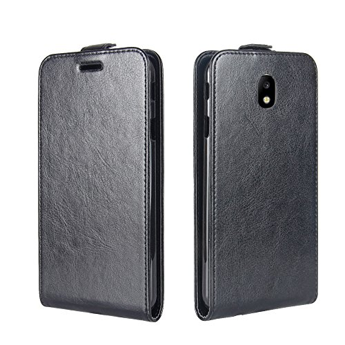 Portafoglio Carta Flip 2017 Verticale Custodia J7 slot Libro Samsung Per supporto Case Adorehouse J730 Custodia nero Nero A Galaxy Cover Porta qFZgPSwPT