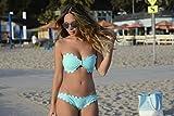 Gifts Delight Laminated 36x24 Poster: Marianna Hewitt Life with me Blog Bikini Swimsuit Boohoo Beach Bag Summer Blue Bikini Bandeau