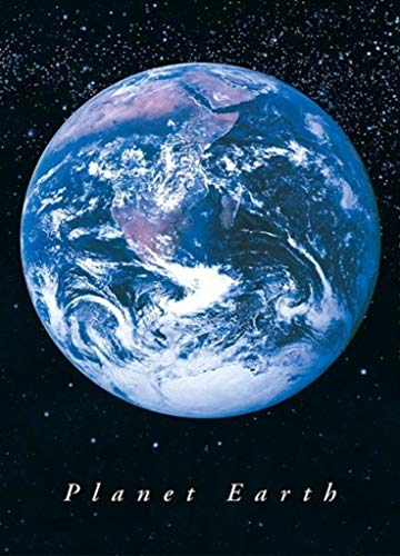 Pyramid America Planet Earth from Space Poster Art Print ()