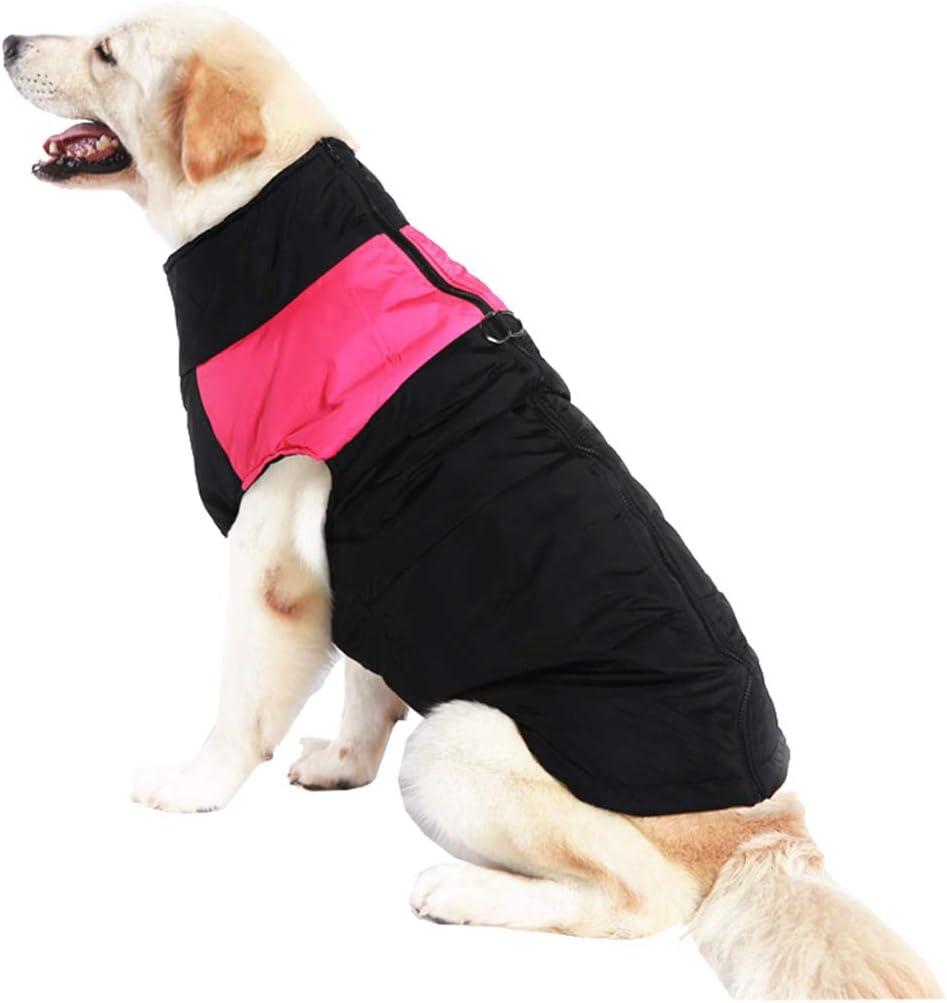 mama stadt Ropa para Mascotas Perros Invierno Chaleco Caliente Algodón Abrigo Chaqueta Impermeable Perro Pequeño Mediano Ropa de Nieve Tamaño XS-5XL