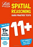 #2: Letts 11+ Success – 11+ Spatial Reasoning Quick Practice Tests Age 9-10 for the CEM tests