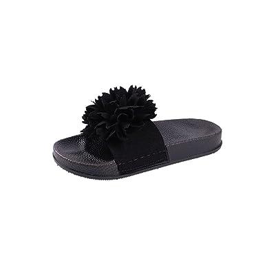 478e95b1711f Amazon.com  DENER Women Girls Ladies Summer Flat Slippers Moccasins ...