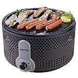 Gourmia GBQ330 Gril Barbecue Électrique Portable