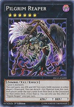 Amazon Com Yu Gi Oh Pilgrim Reaper Duea En099 Duelist Alliance 1st Edition Common Toys Games