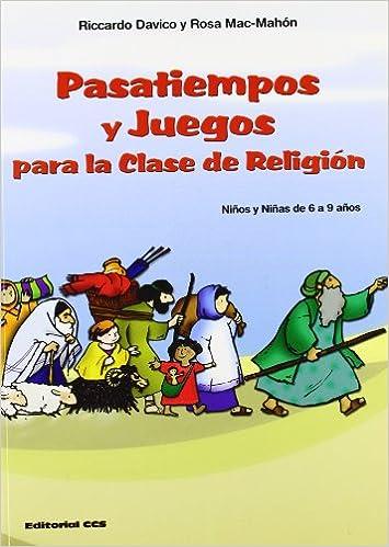 Pasatiempos Y Juegos Para La Clase De Religion Ninos Y Ninas De 6 A