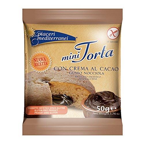 Piaceri mediterráneas Mini tartas con crema al cacao Gusto Avellana 50 g: Amazon.es: Alimentación y bebidas