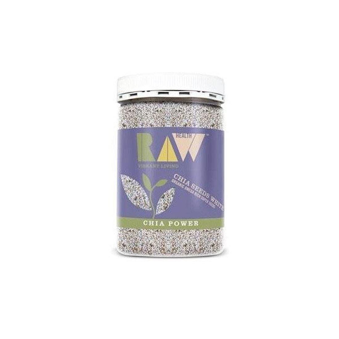 Raw Health  Organic Blanco Chia Seeds Seeds Seeds  5 x 450g 7bf372