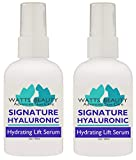 Cheap Watts Beauty Signature 100% Pure Hyaluronic Acid Wrinkle Serum – Best Hyaluronic Acid Serum for Face – No Fillers – Made in the USA – Perfect for Wrinkles, Dull, Dry or Aging Skin.