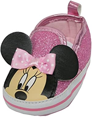 Minnie Mouse Sequins Girl's Sneakers - Infant