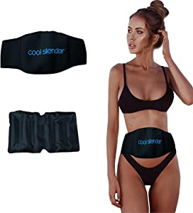 Cool Slender Fat Freezing Kit - at-Home Fat Freezing - Simple Fat Loss Cold Body Sculpting Wrap - Fat Freezer