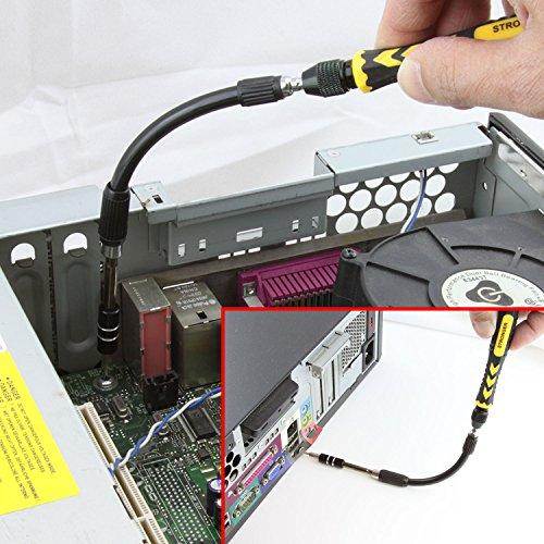 LB1 High Performance New Premium Tools Kit for Asus 15.6'' Touch-Screen Laptop 8GB Memory 1TB Hard Drive Black Q550LF-BBI7T07 Multipurpose 38-Piece Precision Screwdrivers Repair Tools Set by LB1 High Performance (Image #4)