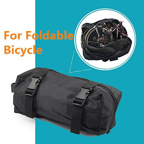 StillCool Folding Bike Bag 14 inch to 20 inch Bicycle Travel Carrier Bag Pouch,Bike Transport Case for Transport,Air Travel,Shipping (14-inch to 20-inch) by StillCool (Image #2)