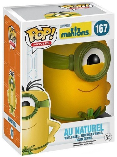 Funko POP Movies: Minions Figure, Au Naturel
