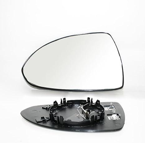 Miroir glace de r/étroviseur remplacement gauche