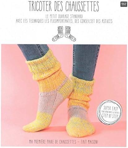 Catalogue TRICOTER DES CHAUSSETTES Rico Design