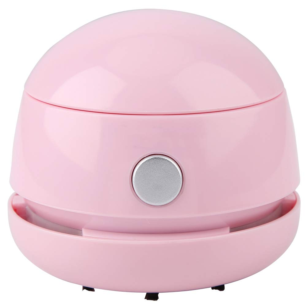 FTVOGUE Tischreiniger Mini Wiederaufladbare tragbare Tischstaubsauger-Reinigungsmaschine f/ür das Heimb/üro Rosa