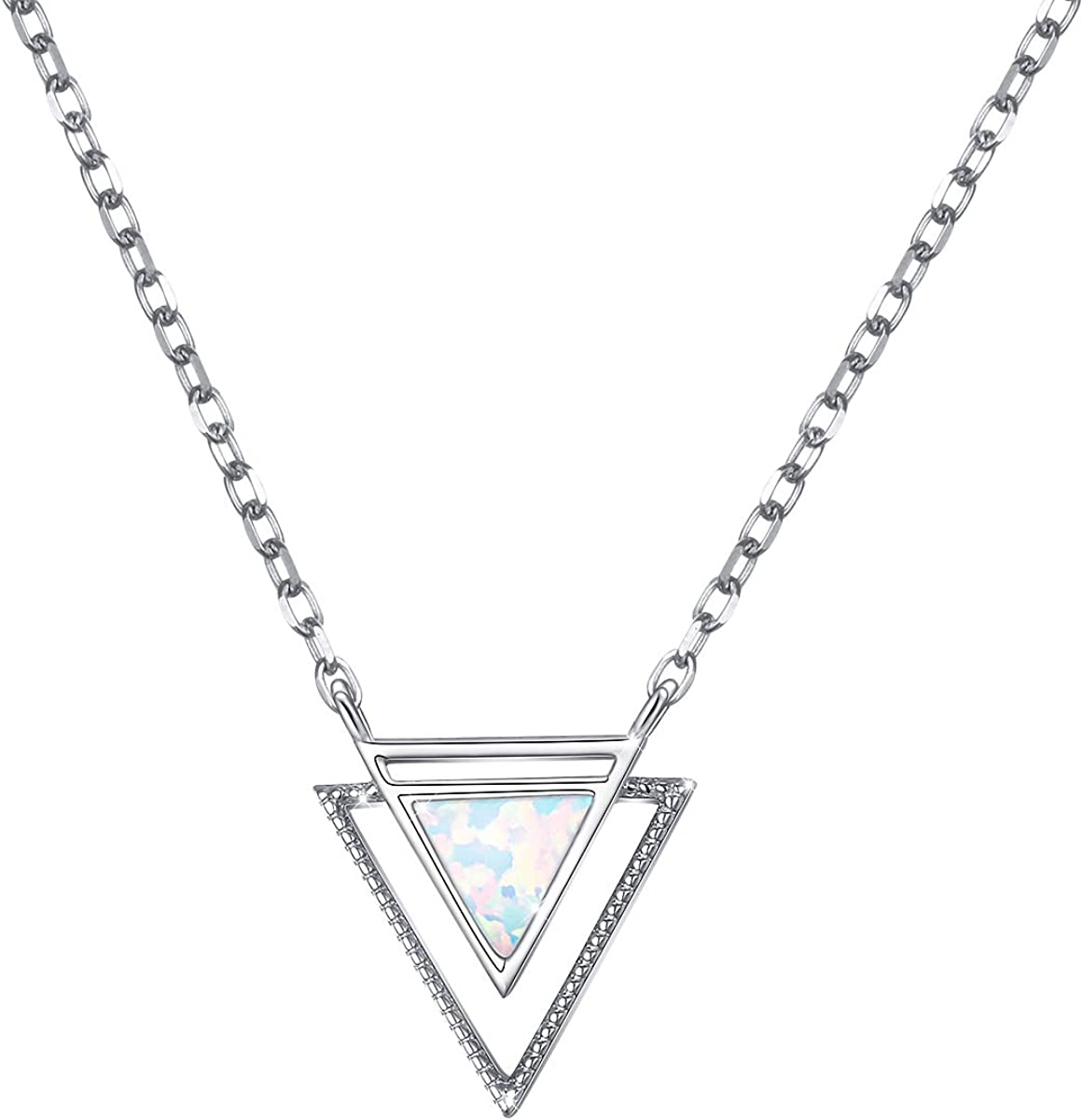 Hope Lover/'s Heart Sterling Silver Necklace