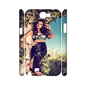 WJHSSB Demi Lovato Customized Hard 3D Case For Samsung Galaxy Note 2 N7100