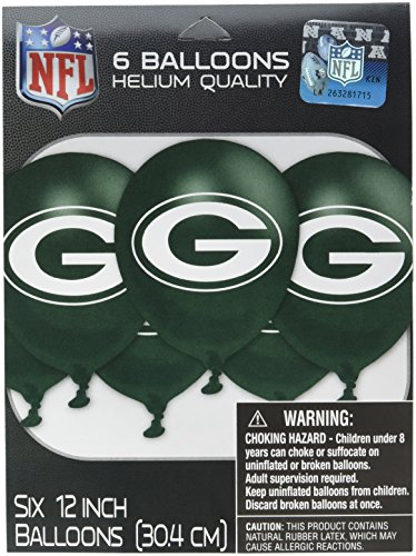 Team Party Decoration (Amscan MLB Green Bay Packers Party Team Logo Balloon Decoration)