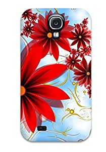 Hot Design Premium Tpu Case Cover Galaxy S4 Protection Case(sky Facebook Covers)