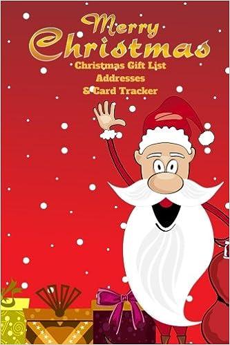 Family Christmas Gift Lists.Amazon Com Merry Christmas Gift List Addresses And Card