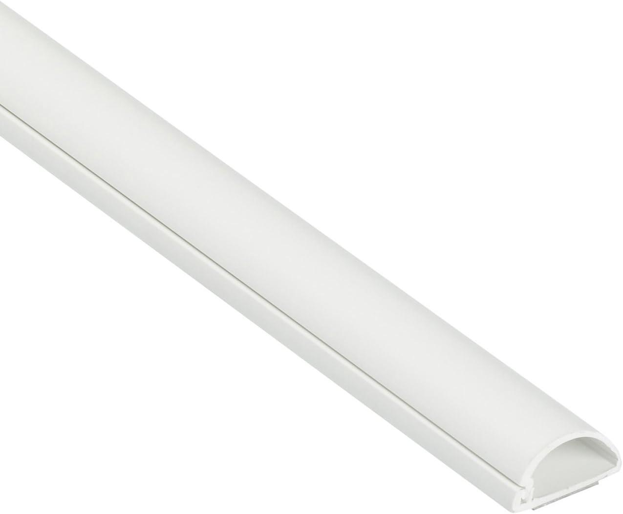 D-Line Micro+ 1M2010W | Canaletas para cables | 1 metro - Blanco