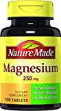 Nature Made Magnesium 250mg, 100 Tablets (Pack of 6) Review