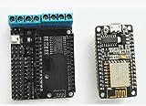 1 pcs lot WiFi driver expansion board L293D smart car +New NodeMCU V2 ESP8266 development board