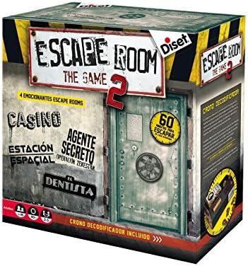 Diset - Escape Room The Game 2 Juego, Multicolor, 62326: Amazon.es: Juguetes y juegos