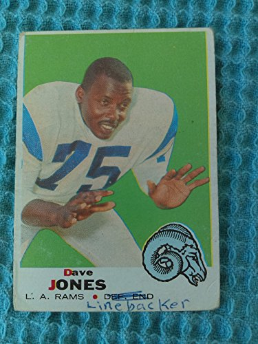 Deacon Jones (Dave) - 1969 Topps #238 - Los Angeles Rams / South Carolina State / Hall of Famer