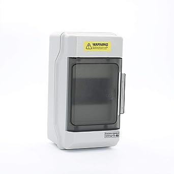 Caja de distribución de 4 vías IP66 PC caja de distribución a prueba de agua caja de interruptores: Amazon.es: Industria, empresas y ciencia