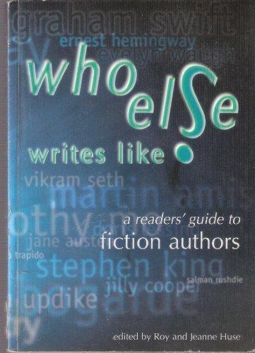 Who Else Writes Like? Pb