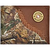 Badger Western Wallet Mens Leather Bifold Lacing Conchos Camo BW562