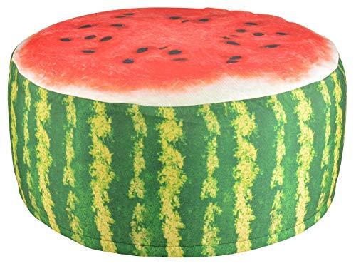 Esschert Design BK011 Outdoor Poufs Garden Seat, Melon -