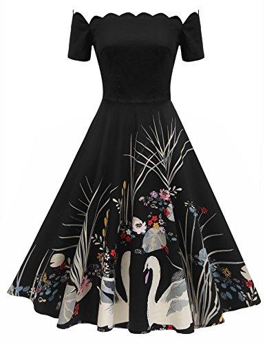 1950s Swing Dress - 5