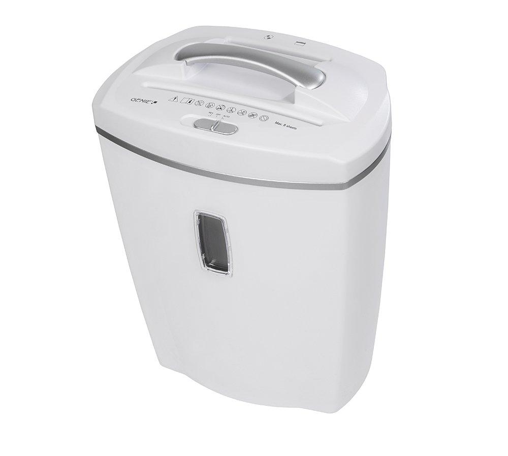 Genie XCD–Destructora de papel hasta hojas microcorte con CD trituradora incluye papelera