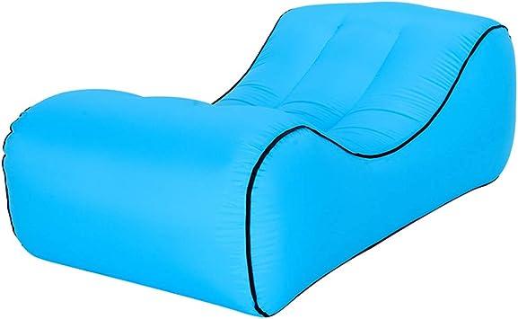 DDSGG Sofa Hinchable,Tumbona Inflable Playal,para Viajar, Piscina ...